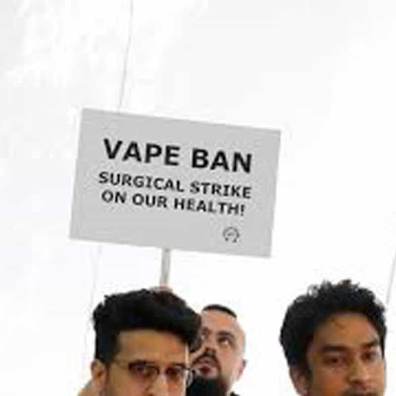Vape bans could have disastrous consequences – undoing gains in smoking cessation – expert warns