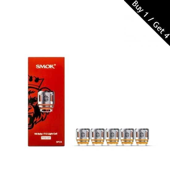 Smok V8 Baby T12 Orange Light Coil
