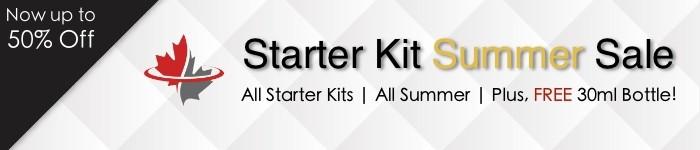 Starter Kit Summer Sale August 2021 Mobile Banner