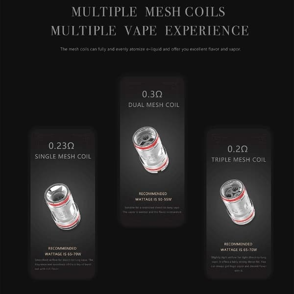 Uwell-Crown-5-Mesh-Coils-Available