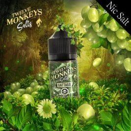 Gattago Flavour By Twelve Monkeys Nic Salts
