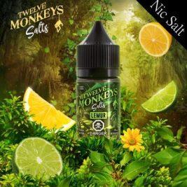 LEMUR Flavour By Twelve Monkeys Nic Salts