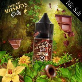PATASPIPE Flavour By Twelve Monkeys Nic Salts