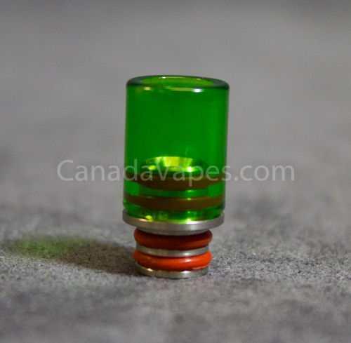 Glass Mouthpiece Green