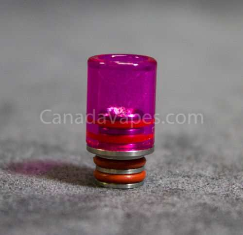 Glass Mouthpiece Pink