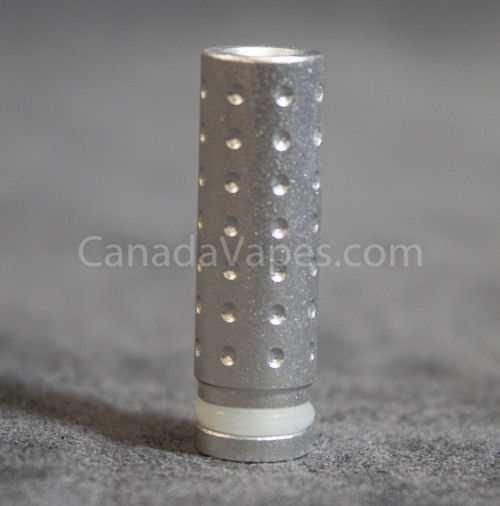 Silver Long Aluminum Mouthpiece