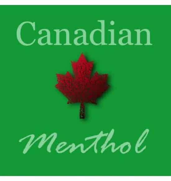 Canadian Menthol flavour e-liquid