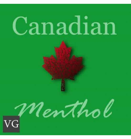 Vg Canadian Menthol flavour e-liquid